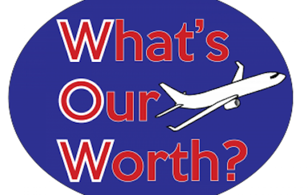 What's Our Worth logo