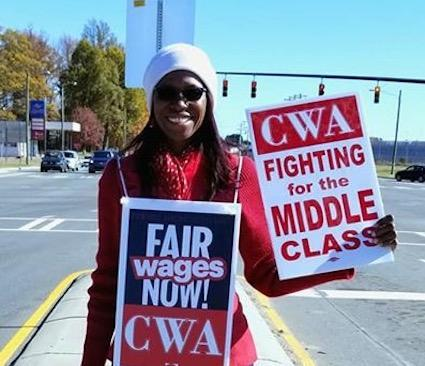 Mercy Littlejohn CWA Local 3645